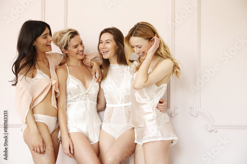 ec492c339d5 Young women wearing lingerie - Buy this stock photo and explore ...