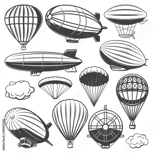 Photo Vintage Airship Collection