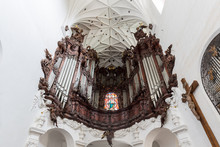 Great Oliwa Organ At The Oliwa...