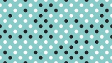 Seamless Polka Dot Pattern. Ve...