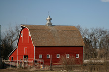 Old Barns That No Longer Serve A Use In Modern Ranching And Farming