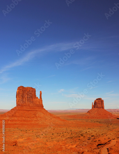 Poster Brick The Mittens of Monument Valley