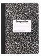 canvas print picture - Composition Note Book