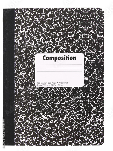 Vászonkép Composition Note Book