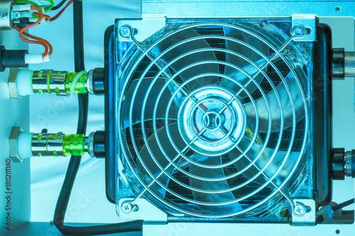 Fotografía  cooling fan inside