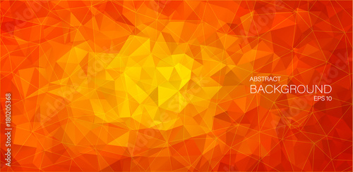 Flat 2D Abstract triangle background