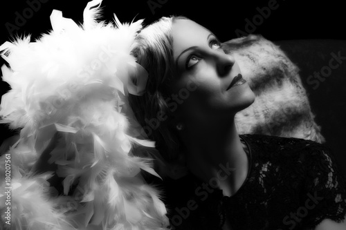 Fotografie, Tablou Hollywood actress style