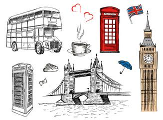 Fototapeta London sketch