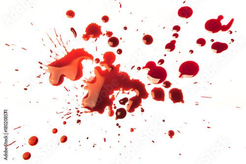 Pinturas sobre lienzo  Blood stains