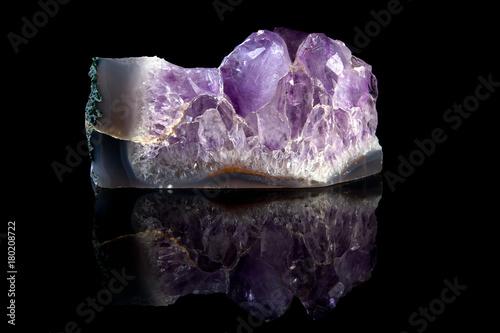 Rough Amethyst gemstone