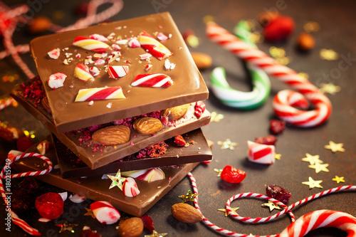 Платно  Christmas chocolate bark