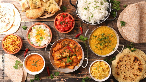 Photo sur Toile Magasin alimentation assorted indian food