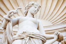Venus Statue, Unity Square (Piazza Unità D'Italia), Close To The City Hall Palace, Triest.