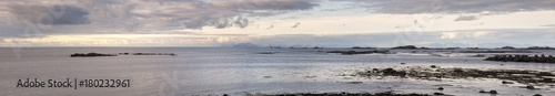Spoed Foto op Canvas Kust Panorama at Eggum at Lofoten in Norway