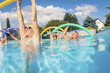 Group of Seniors in a Pool in Rheinland-Pfalz, Germany