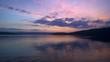 Закат на озере Большой Кисегач, Южный Урал