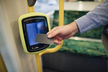 Paying TRam Fare With Contactless Card
