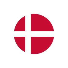Denmark Flag, Official Colors ...
