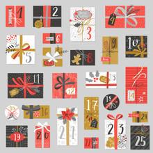 Christmas Advent Calendar, Han...