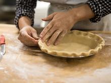 Shaping Pie Crust