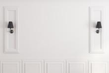 White Classic Wall