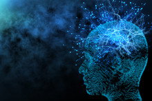 Artificial Intelligence And Network Concept