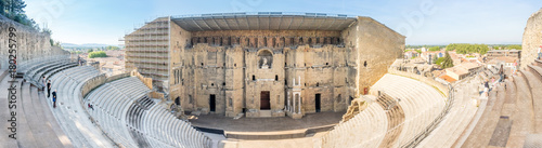 Wall Murals Theater Roman theater of Orange, France