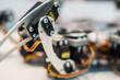 Metal foot of spider robot