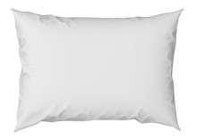 Close Up Of A White Pillow On ...