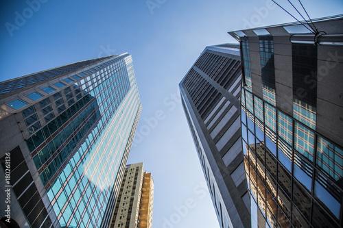 Obraz na dibondzie (fotoboard) Widok Hongkongu