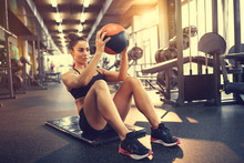 Exercises With Ball In Gym