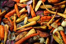 Oven Baked Vegetables