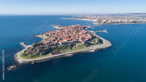 Fotografie, Obraz  General view of Nessebar, ancient city on the Black Sea coast of Bulgaria