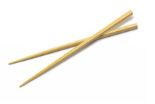 Wooden Chopsticks Isolated On ...