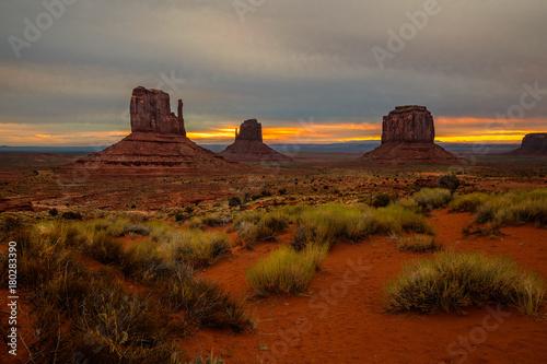 Magenta Monument Valley