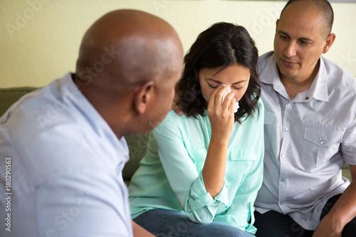 Fényképezés Couple getting marraige counseling.