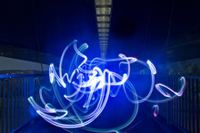 Light Painting In The City