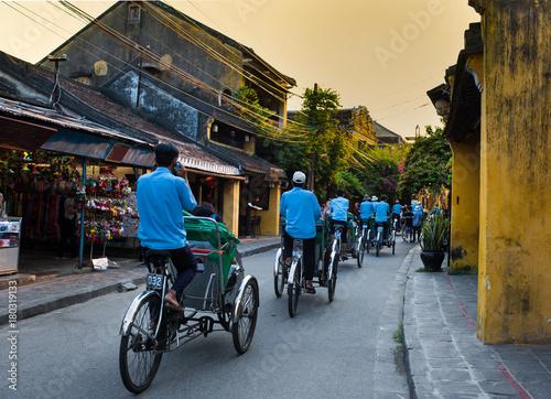 Fotografie, Obraz  Bicycle carriers - Hoian - Vietnam