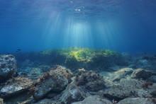 Underwater Seascape Natural Su...