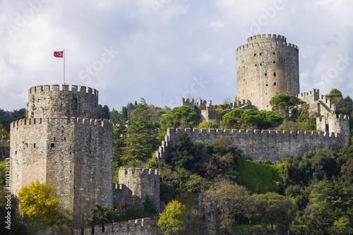 rumeli castle in istanbul Poster