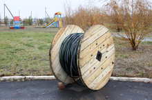 Cable Coil. Coil With Copper C...