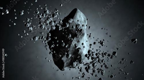 asteroid-dryfujacy-w-kosmosie