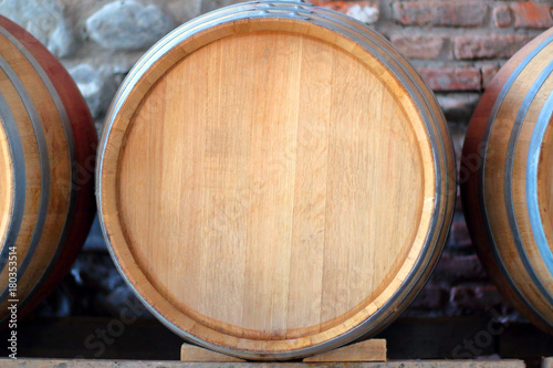 Fotografie, Obraz Wooden barrel for wine