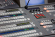 Broadcast studio video and audio switcher mixer