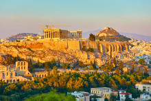 The Acropolis And Panoramic Vi...