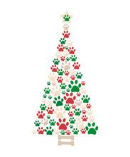 Christmas Tree Made Of Bone An...