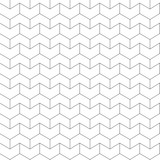 Seamless pattern - linear geometric abstract background - 180391368
