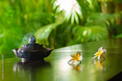 Fotografija  木陰の香炉