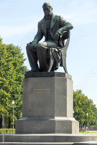 Fotografie, Obraz  Griboyedov Monument - Saint Petersburg, Russia