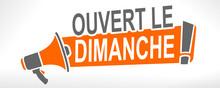 Ouvert Le Dimanche Sur Mégaphone